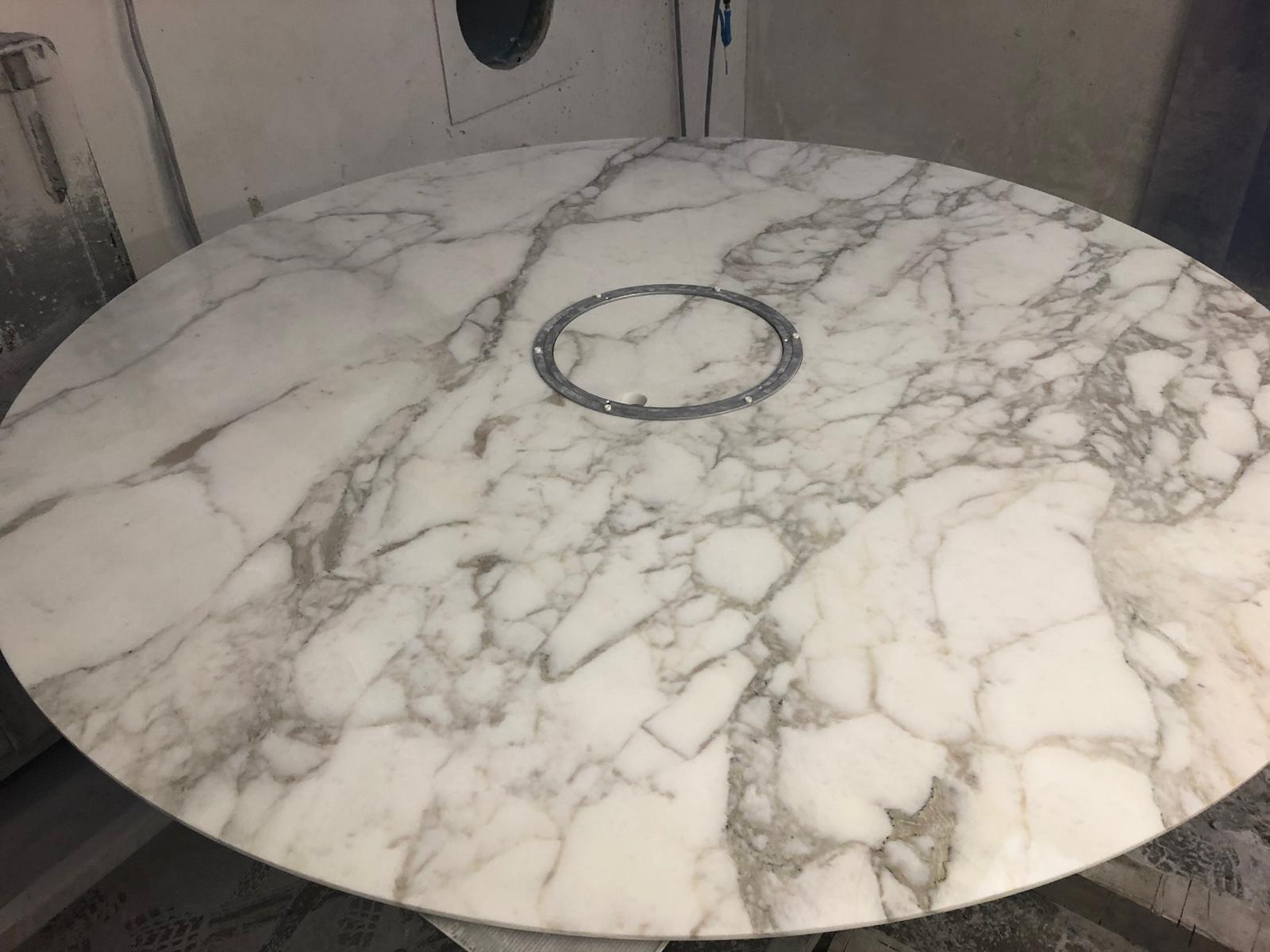 Stone table from Rock Fabrications